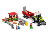 7684 LEGO City Pig Farm & Tractor
