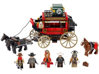 79108 LEGO The Lone Ranger Stagecoach Escape