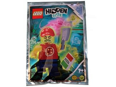791902 LEGO Hidden Side Possessed Pizza Delivery Man
