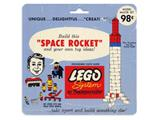 801-3 LEGO Samsonite Space Rocket