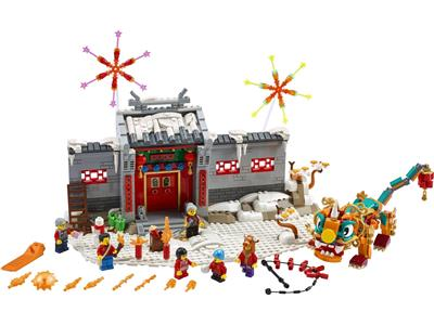 80106 LEGO Chinese Traditional Festivals Story of Nian