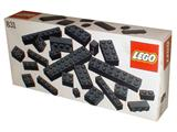 831 LEGO Black Bricks Parts Pack
