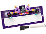 853443 LEGO Friends VIP Cardboard Name Plate