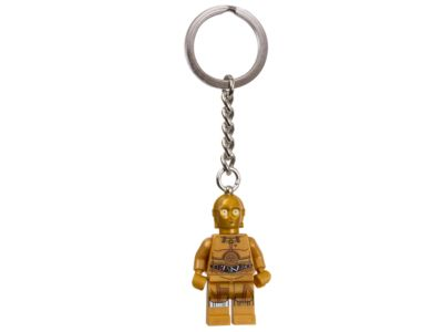 COLLECTABLE NEW LEGO Minifigure KEYCHAIN C-3PO #853471 Star Wars DISNEY