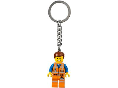 The Lego Movie Minifigure Key Chain Emmet Wyldstyle Bad Cop 850894 850895 850896