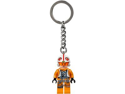 LEGO Minifigure KEYCHAIN Star Wars Luke Skywalker #853947 NEW COLLECTABLE