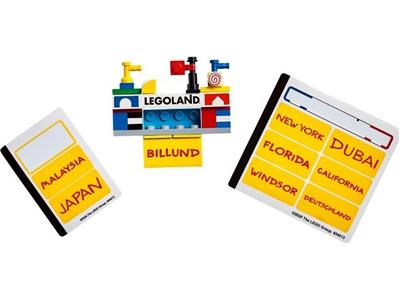 854013 LEGOLAND Buildable Magnet