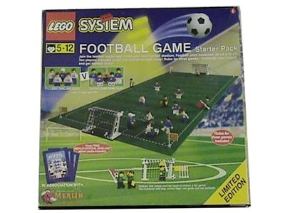 new and sealed Shell World Cup 1998 Footballer Lego 3305