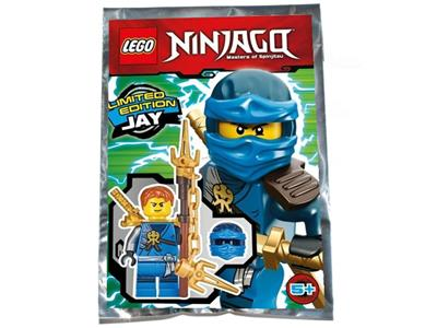 FOIL PACK 891723 ORIGINAL LEGO Ninjago Limited Edition Minifigure KAI