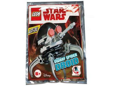 LEGO Star Wars Dwarf Spider Droid Minifigure Foil Pack Set 911835