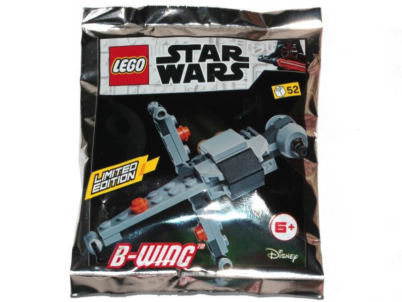 911944 ORIGINAL LEGO STAR WARS LIMITED EDITION Foil Pack Resistance Bomber