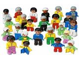 9170 LEGO Dacta Duplo Community People Set
