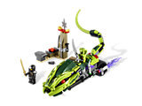 9447 LEGO Ninjago Search for the Fang Blades Lasha's Bite Cycle