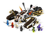 9449 LEGO Ninjago Search for the Fang Blades Ultra Sonic Raider