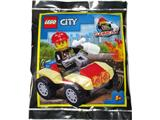 952009 LEGO City Fireman with Quad Bike