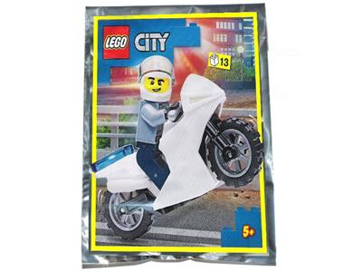 952103 LEGO City Policeman and Motorcycle