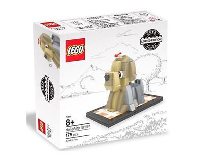 LEGO Year of the Dog Yorkshire Terrier